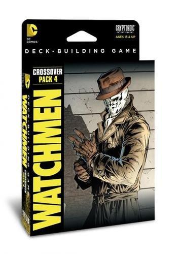 DC Comics Deck Building Watchmen Card Game