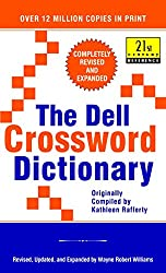 cheap Dell Crossword Dictionary: Completely revised and expanded (21st Century Reference)