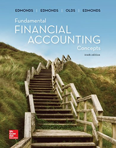 Compare Textbook Prices for Loose-Leaf Fundamental Financial Accounting Concepts 10 Edition ISBN 9781260159400 by Edmonds, Thomas,Edmonds, Christopher,Edmonds, Mark,McNair, Frances,Olds, Philip