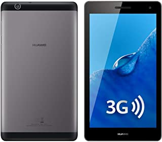 "Huawei MediaPad T3 7"" BG2-U03 3G 8GB 1GB RAM WiFi Tablet Factory Unlocked Android (Gray) -International Version- No Warranty"