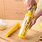 Household Corn Stripper Fruit Vegetable Tools Stainless Steel Corn Cob Remover Cutter Shaver Peeler Kitchen Cooking Gadgets Accessories