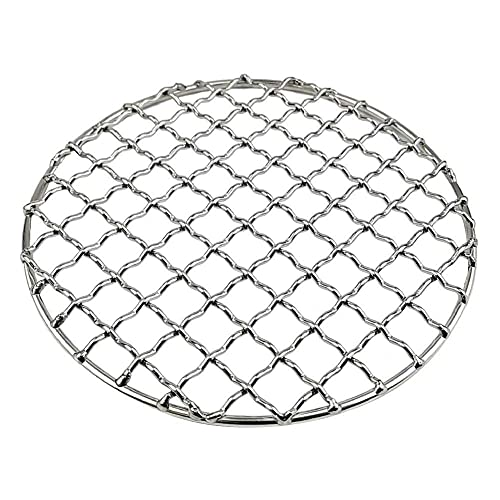 YuKeShop Stainless Steel Round Steamer Rack and Cooling Rack Wire Baking Steaming Rack with Stand for Air Fryer Instant Pot