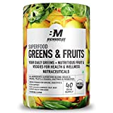 Bigmuscles Nutrition Superfood Greens & Fruits 40 Servings | Original Flavour | Organic