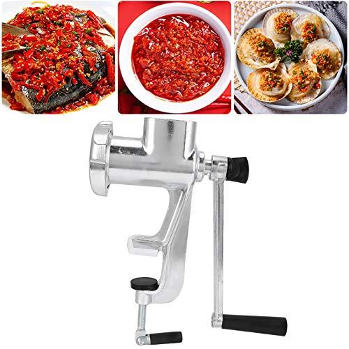 Yivibe Picadora de Mano, Picadora de Carne Manual, Potente para Todas Las Carnes Cocina casera