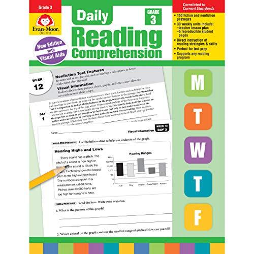 Evan-Moor Daily Reading Comprehension, Grade 3