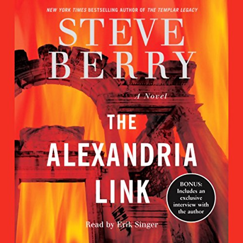 The Alexandria Link audiobook cover art