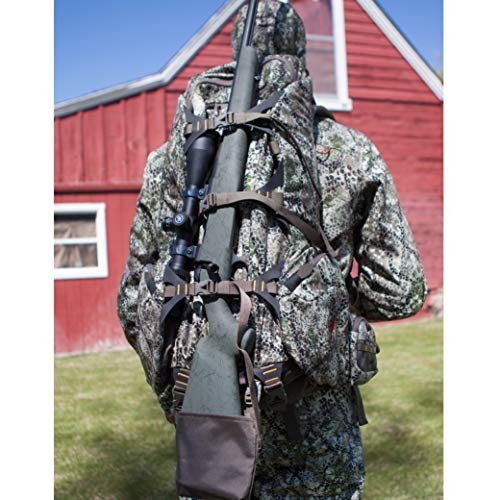 Badlands 2200 Camouflage Hunting Backpack - Meat Hauler - Rifle, Bow, and Pistol Compatible and...