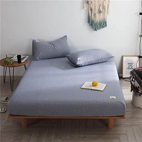 CYYyang Unterbett Soft-Matratzen-Topper, Matratzenschutz Boxspring-Betten geeignet Baumwollbettlaken einteilig staubdicht-2_120X200cm