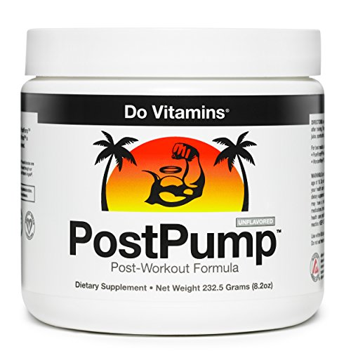 Do Vitamins PostPump Clean Post Workout Supplement Recovery Powder with Creapure Creatine Monohydrate Carnipure L-Carnitine & Ajipure Branched Chain Amino Acids (BCAAs)