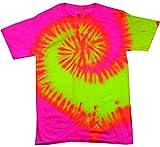 Colortone - Camiseta - Cuello Redondo - Mujer Tourbillon Fluorescent. L