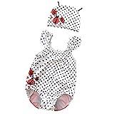 Warmbaby Kids Toddler Girls Cute Swimsuit Bikini Polka Dot Ladybug 3T
