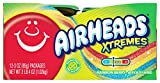 AirHeads Xtremes Sweetly Sour Candy Belts, Halloween Bulk Box, Rainbow Berry, Party, Non Melting, 3 Ounce (Bulk Pack of 12)