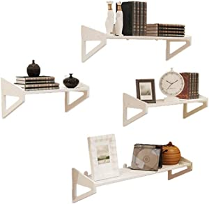 One-Word Shelf Wall Mounted Floating Wall Gloss Shelf Unit Bedroom Kitchen Livingroom Office Decor Shelves for Wall