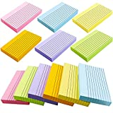 BIGNC 600 Sheets Index Cards, 3 x 5 Inch Ruled Color Cards Note Cards for School, Home & Office, 6 Colors