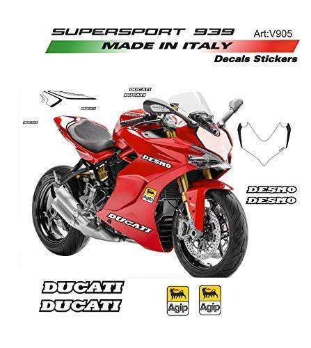 Vulturbike Sticker Set Desmo Für Ducati Supersport 939
