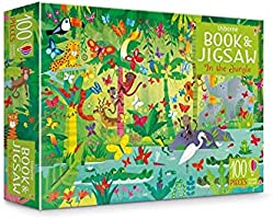 Usborne Book and Jigsaw: In the Jungle