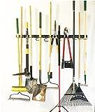 Système de rangement réglable, 120cm, supports muraux pour outils, organiseur...