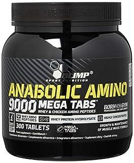 Olimp Anabolic Amino 9000 Mega Tabs , 300 Tabletten (B004O6YQRO) | Amazon price tracker / tracking, Amazon price history charts, Amazon price watches, Amazon price drop alerts
