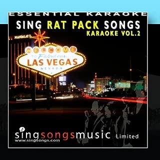 Sing Rat Pack Songs Volume 2