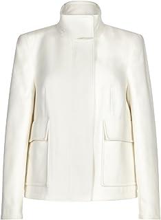 Anastasia Womens Cream Short Winter Jacket
