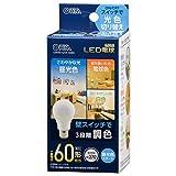 オーム電機 LED電球(60形相当/E26/全方向270°/密閉形器具対応/調色機能付/昼光色スタート) LDA7D-G/CK AG93