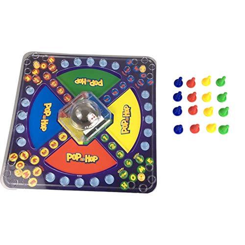Juegos de mesa de frustración, Pop y Hop Juego de mesa Divertido Juego de Educación Familiar Juguete para Niños