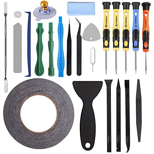 AUTOPkio 24 in 1 Repair Tool Set Kit de herramientas para iPhone, smartphone, multimedia u otros pequeños electrodomésticos