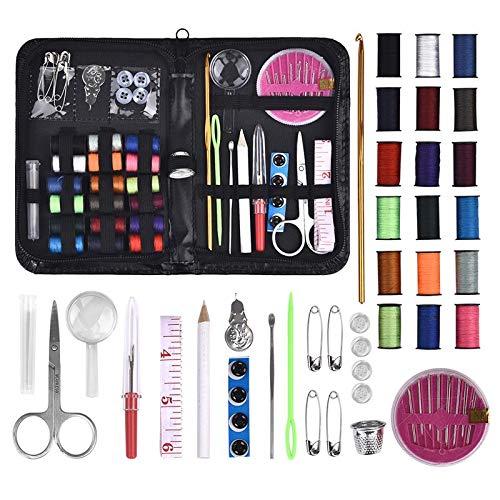 OPYTR Costura Kit 27/58/68 PCS Kits de Coser Bricolaje Juego de Caja de Coser multifunción para acolchar a Mano de Costura de Bordado de Bordado Accesorios de Costura Bricolaje (Color : 58PCS)