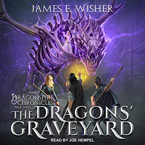The Dragons' Graveyard audiobook cover art