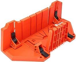 Caja de Inglete y Sierra, 14 Pulgadas, Multiuso 90 ° 45 ° 22.5 ° Caja de Sierra Manual Herramienta para Cortar Carpintería, Caja de Inglete de Sujeción Manual
