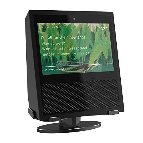 Soporte plegable portátil ventilado para computadora portátil, rotación de 360 grados, base de soporte de aleación de aluminio para Amazon Echo Show-208832