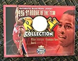 2001 Fleer Focus Allen Iverson 1996-79 Rookie Of The Year Game Used Jersey Card - Basketball Slabbed Rookie Cards