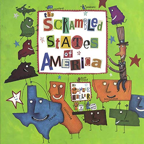 The Scrambled States of America Audiobook By Laurie Keller cover art