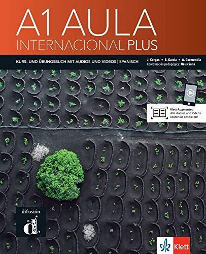 Aula internacional Plus A1 - deutsche Ausgabe: Deutsche Ausgabe. Kurs- und Übungsbuch + Audios und Videos online