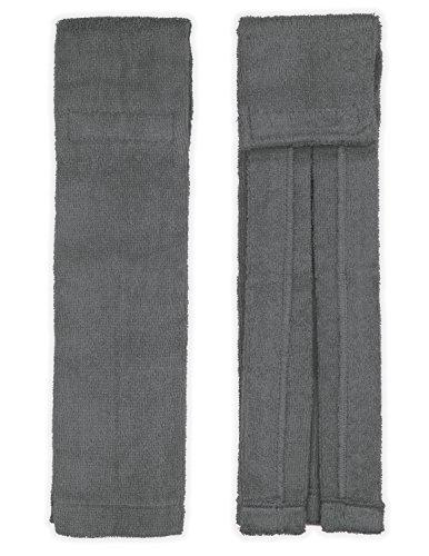 Suddora - Toalla de fútbol con cierre (gris)