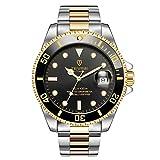 TEVISE T801 Hommes Montre Mécanique Automatique Mode Lumineux Montre-Bracelet Luxe 30 M Jour Imperméable Acier Bande Acier Mâle Sport Horloge