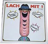 DDR-Komiker (O.F.Weidling, Gustav und Erich, Mahfred Uhlig u.a.):Lach mit! Komiker-Knüller!Conference.Kabaret.(Schallplatte/Album/Vinyl)