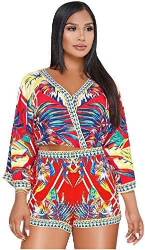 African print rompers _image1