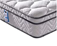 【Individually Wrapped Spring】- Designed with Individually Wrapped Spring, this king size mattress offers excellently support to relieve 7 pressure points of your body (Feet, legs, hips, waist, shoulders, neck, head) 【Vesgantti Comfort System】- Multil...