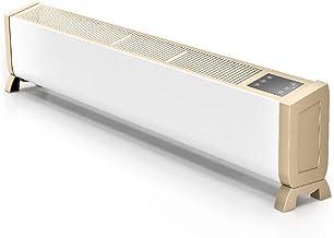 Zyl-yl Calentador de zócalo Convector temporizador digital calentador termostato for el hogar/Conservatorio Slimline placa base radiador remoto calentadores de control for toda la casa de calefacció
