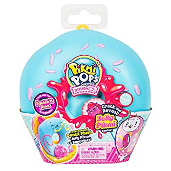 Pikmi Pops DoughMis Series Surprise Pack - 1pc Collectible Scented Medium Plush Toy in Medium Donut with Surprises