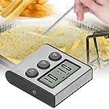 Jopwkuin Kochen, zeigt genaue voreingestellte Temperatur-Kochsonde hohe Empfindlichkeit zum Kochen von Fleisch für BBQ