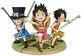 Figurine 'One Piece' : Little Luffy Ace Sabo [Importación francesa]