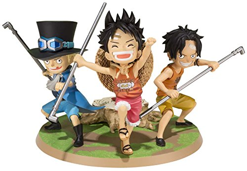 Figurine 'One Piece' : Little Luffy Ace Sabo