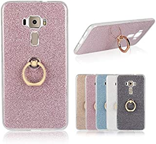 SIZOO - Fitted Cases - Colorful Phone Cases For for Asus ZenFone 3 ZE552KL Silicone Soft Ring Case Glitter TPU Back Cover ...