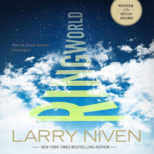 Ringworld audiobook cover art