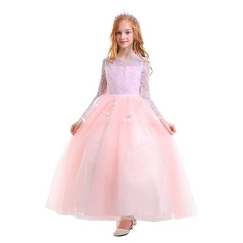 b9cc0c64f913 Pink Ball Gown Kids  Amazon.co.uk