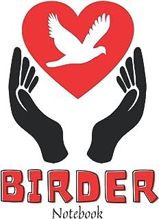 Birder Notebook: Bird Watcher Gifts - Paperback Journal to write in