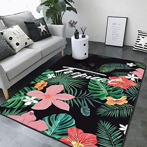VitaLity Teppich für Wohnzimmer Schlafzimmer,Outdoor Teppich im nordischen Stil,Teppich Anti Rutsch Unterlage 120cmX160cm