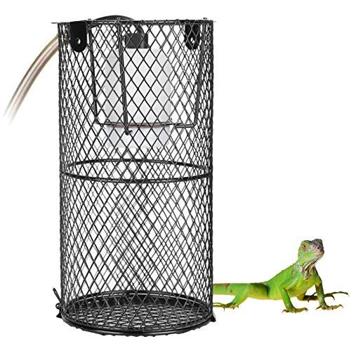 Deryang Pantalla de Reptil, Pantalla de Reptil Anti escaldaduras, Metal Duradero para Lagarto Mascota Tortuga Serpiente(220, European Standard)